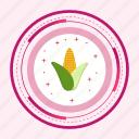 corn, food, maize, plant icon