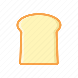 bread, food icon