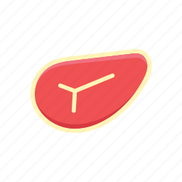 food, raw meat icon