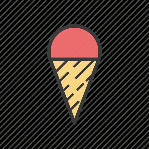 food, ice cream icon