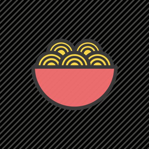 food, noodle, spaghetti icon