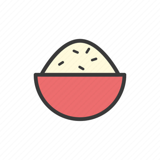 food, rice icon