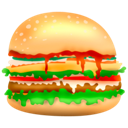 burger, hamburger, fast food, food, junk food icon