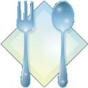 dinner, food, knife, restaurant