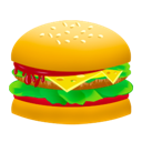 hamburger, fast food, burger, junk food, food