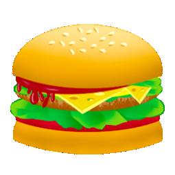 burger, fast food, food, hamburger, junk food icon
