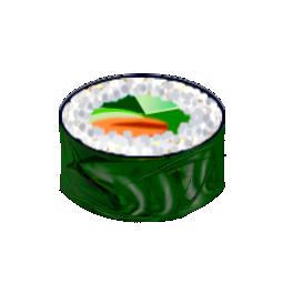 food, maki, salada, sushi icon