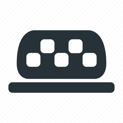 car, driver, sign, taxi, transport icon