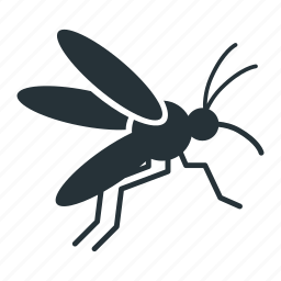 animal, bug, fly, insect, mammal, mosquito icon