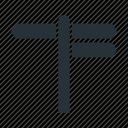 arrow, road, sign, way icon