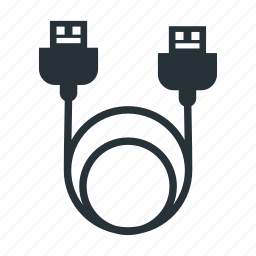 cable, charger, hdmi cable, thunderbold, usb icon