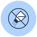 free, no, salt, without icon