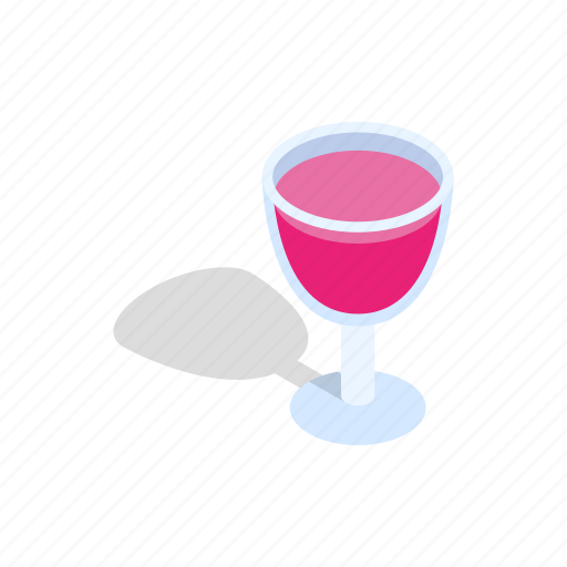 alcohol, bar, beverage, cocktail, drink, isometric, party icon