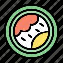 sushi, maki, asian, japanese, food
