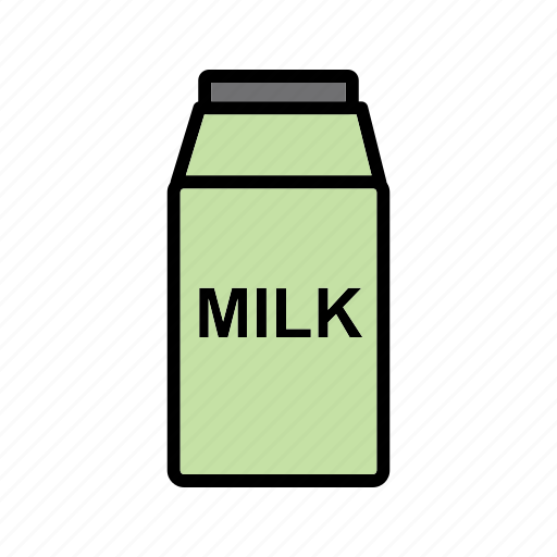 milk, pack, packet icon