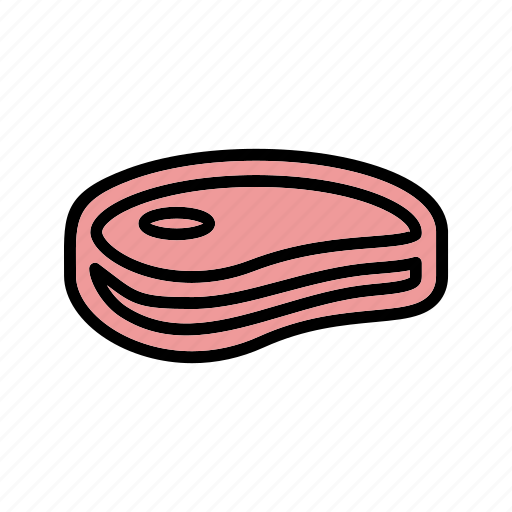 barbecue, beef, meat, steak icon