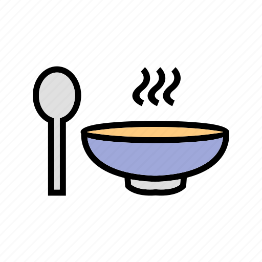 meal, pot, soup, spoon icon
