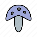 fungi, fungus, healthy, mushroom, mushrooms, plant, vegetable icon