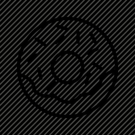 Doughnut, donut, snack icon - Download on Iconfinder