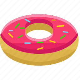 candy, desserts, donut, doughnut, food, pastry, sweets icon