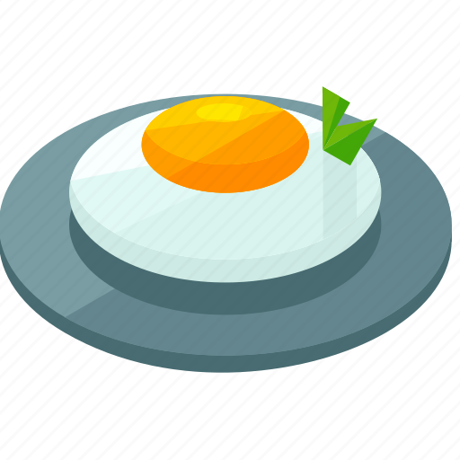 breakfast, egg, food, meal, plate icon