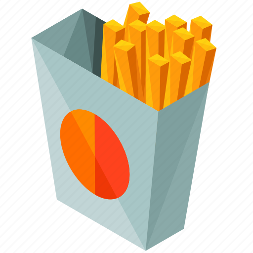 fast, food, french, fries, meal icon