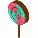 candy, desserts, food, lollipop, sweets icon