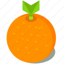 food, fruit, healthy, orange, organic icon