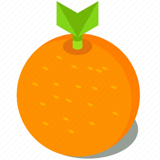 food, fruit, healthy, orange, organic icon