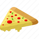 delivery, desserts, fast, food, meals, pizza icon