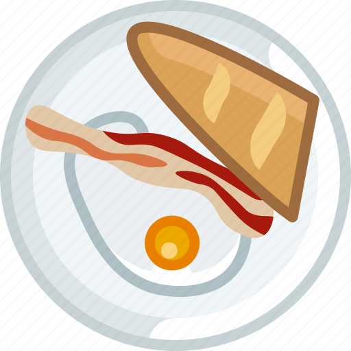 baguette, breakfast, cooking, dish, egg, food, yumminky icon