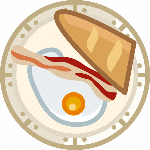 baguette, breakfast, cooking, dish, egg, food, yumminky icon