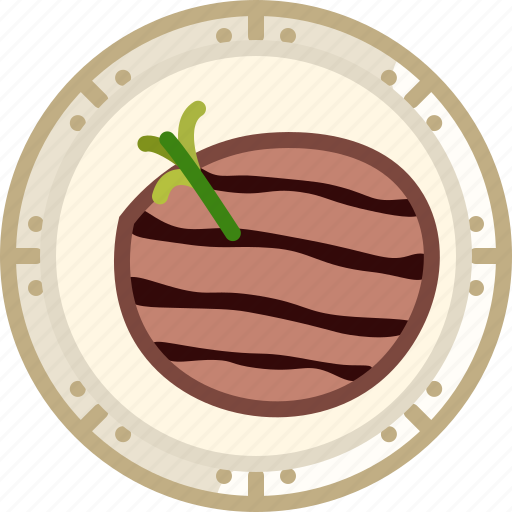 Cooking, dish, food, grill, meat, steak icon - Download on Iconfinder