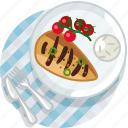 chicken, cooking, food, grill, meal, restaurant, tablecloth icon