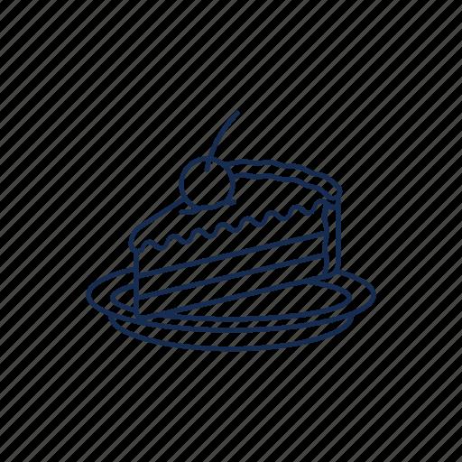 bake, cake, dessert, pie icon icon