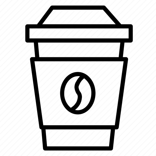 coffee, coffee to go, drink, food, latte icon
