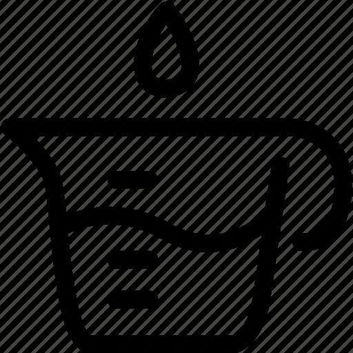 beaker, chemistry, food, glassware, lab, laboratory icon