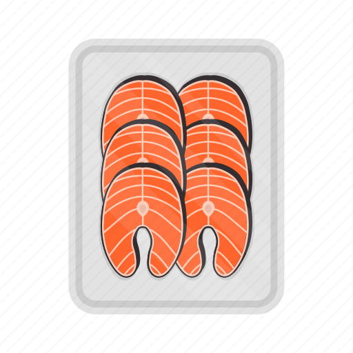 Fish, salmon, seafood, packing icon - Download on Iconfinder
