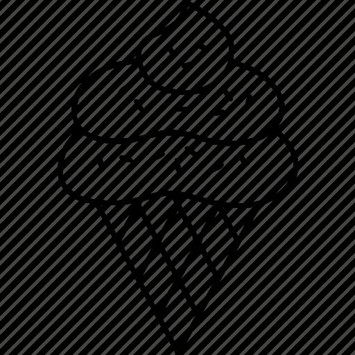 cone, icecream icon