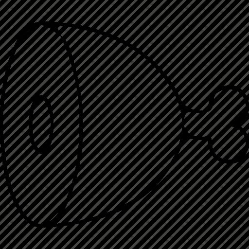 leg, roast icon