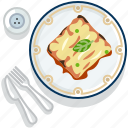 food, gastronomy, lasagne, meal, pasta, plate, restaurant icon