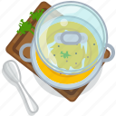 food, gastronomy, meal, plate, pumpkin, restaurant, soup icon