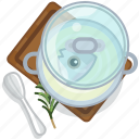 cooking, fish, food, pot, restaurant, serving, soup icon