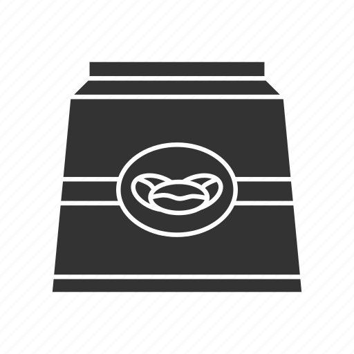 Bag, beans, coffee, coffee beans, drink, ground coffee, paper package icon - Download on Iconfinder