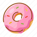 bagels, donuts, food, pastries, sandwiches, snack icon
