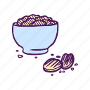 chips, food, hand drawn, junk food, potato icon