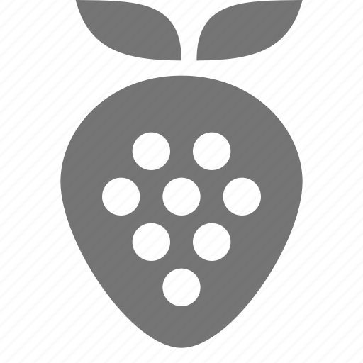food, fruit, strawberry icon