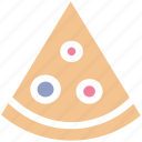 fast food, food, italian, meal, pizza, pizza slice, slice icon