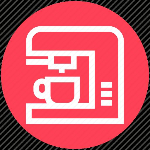Coffee, coffee machine, coffee maker, electronics, espresso, kitchen, machine icon - Download on Iconfinder