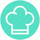 chef, chef hat, cooking, food, hat, kitchen, restaurant icon